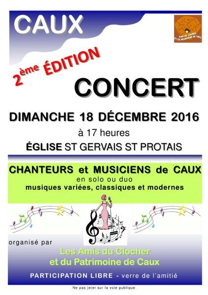 Caux concert