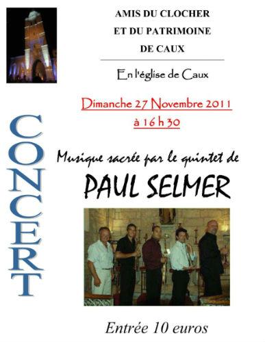 affiche 2011 paul selmer Caux