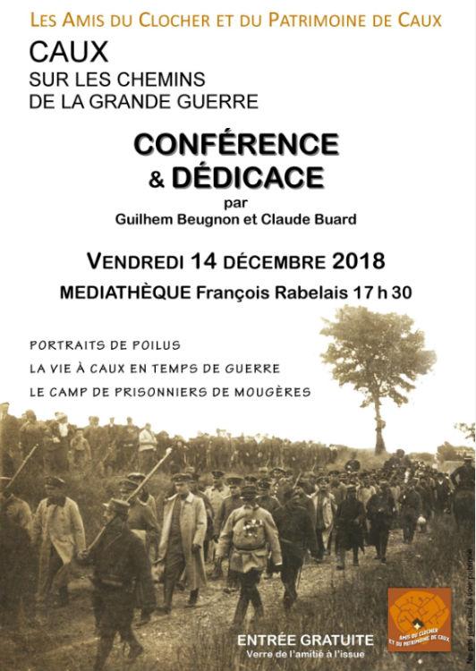 conferece 14-18 Guilhem Buegon Caux