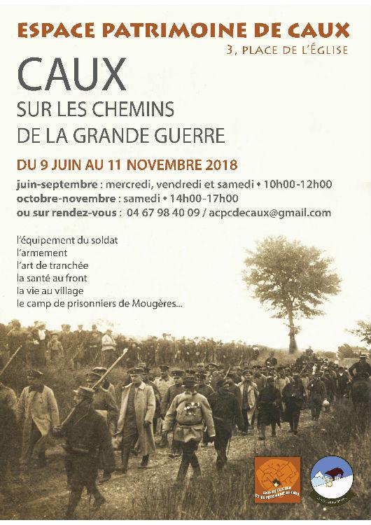 Caux patrimoine musée exposition Grande Guerre