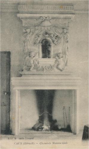 cheminée monumentale Caux