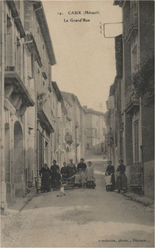 carte postale caux grand rue